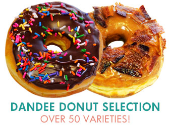 Dandee Donut Factory Donut Flavors and Varieties